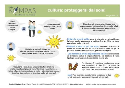 3-Kompas cultura-proteggersi dal sole